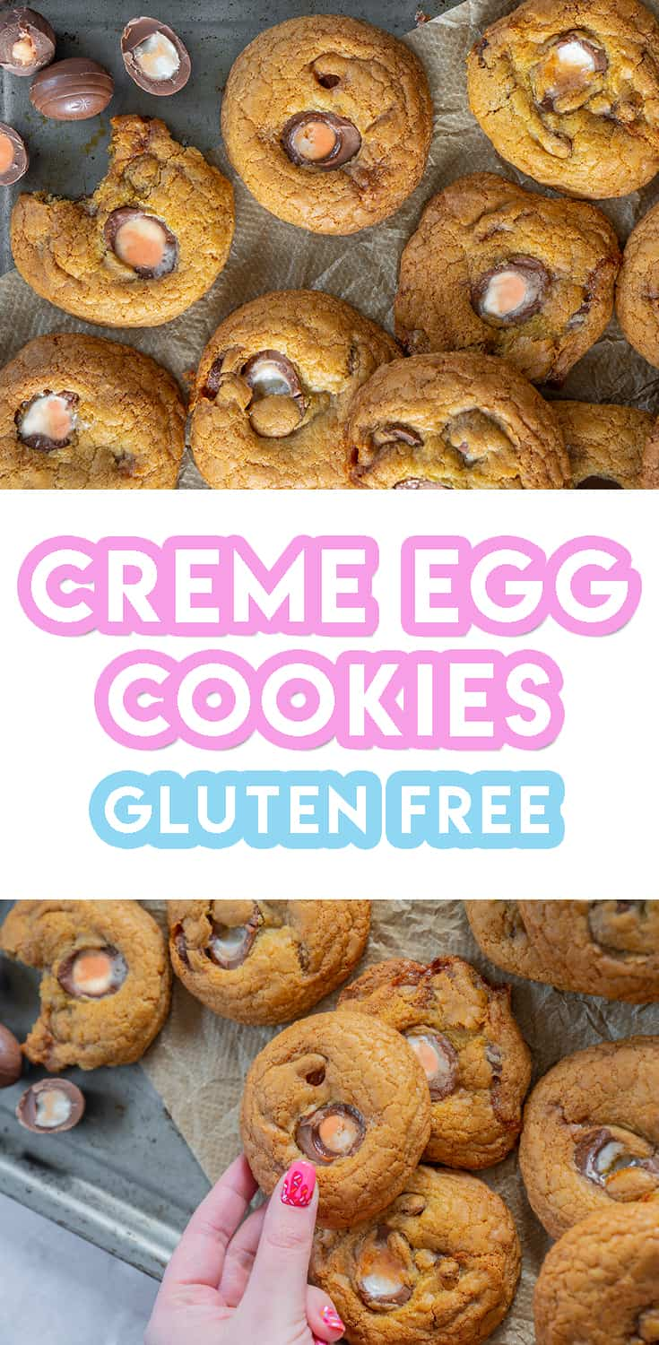 Gluten Free Creme Egg Cookies Recipe