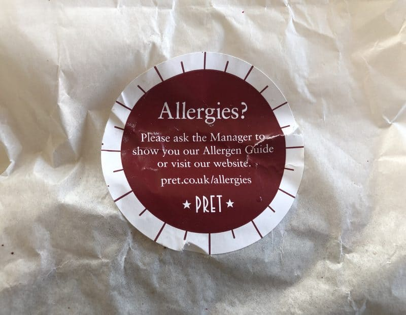 Are the new gluten free sandwiches at Pret safe to eat or not""