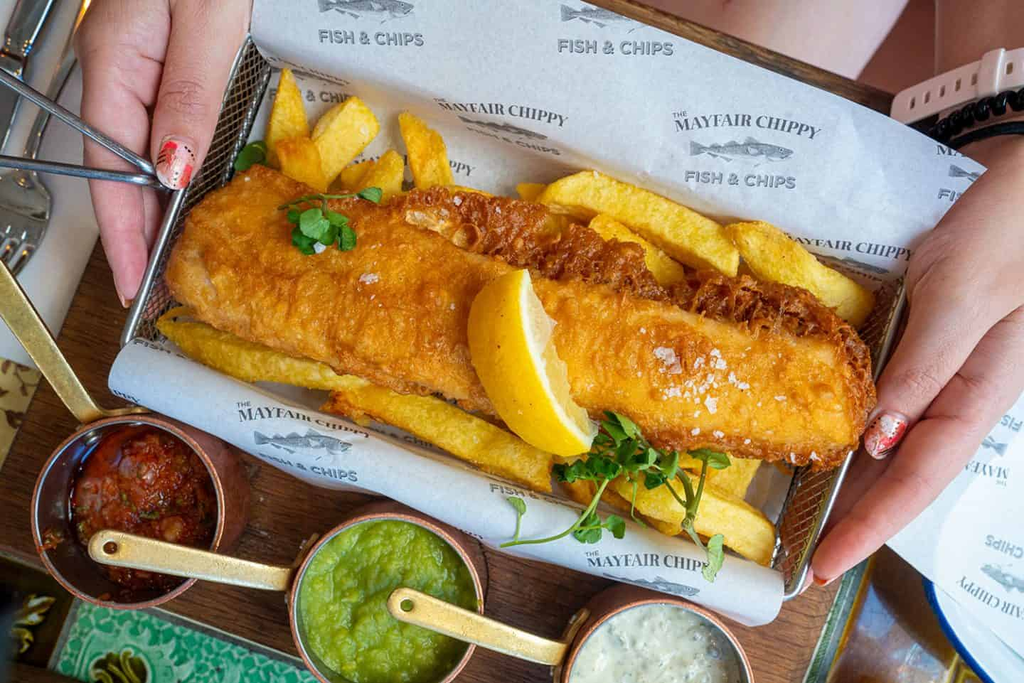 10+ BEST places for gluten free fish and chips in London