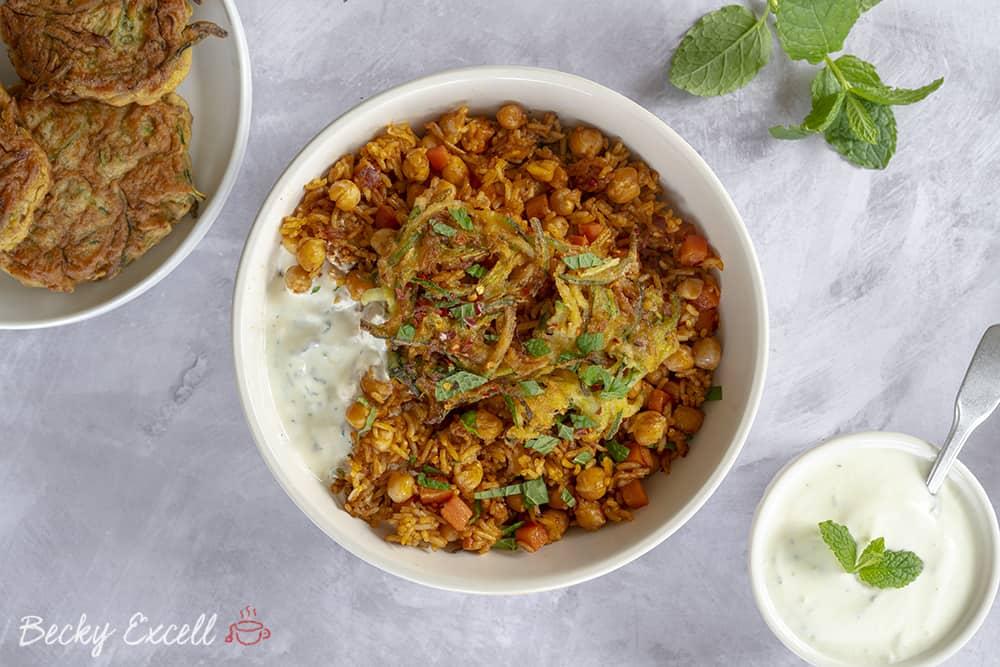 My One-Pot Gluten Free Biryani Recipe (vegan + low FODMAP)