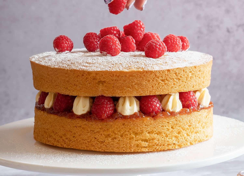 Gluten Free Victoria Sponge Cake Recipe Dairy Free