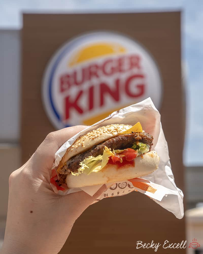 My ULTIMATE guide to gluten free in Barcelona - Burger King goes gf