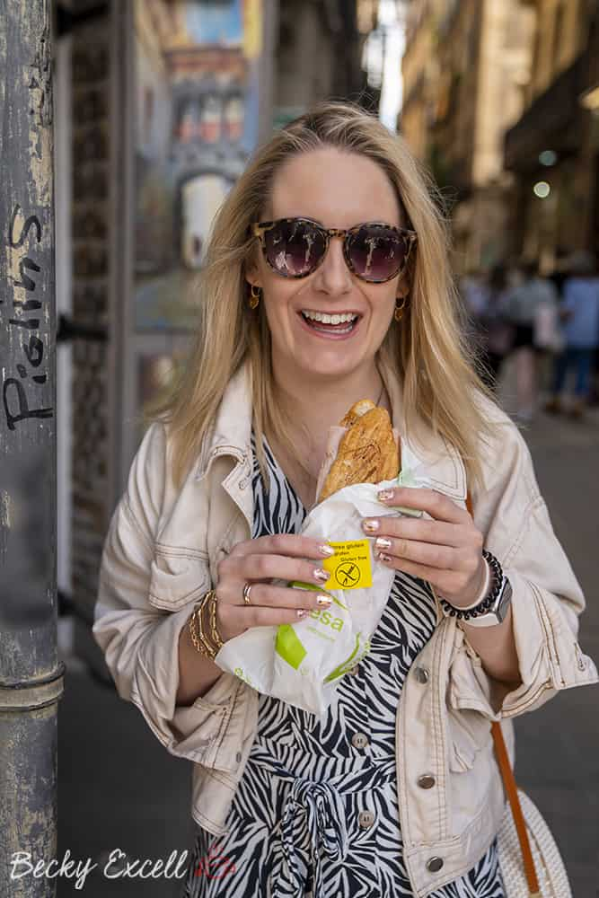 My ULTIMATE guide to gluten free in Barcelona - Conesa Entrepans Panini