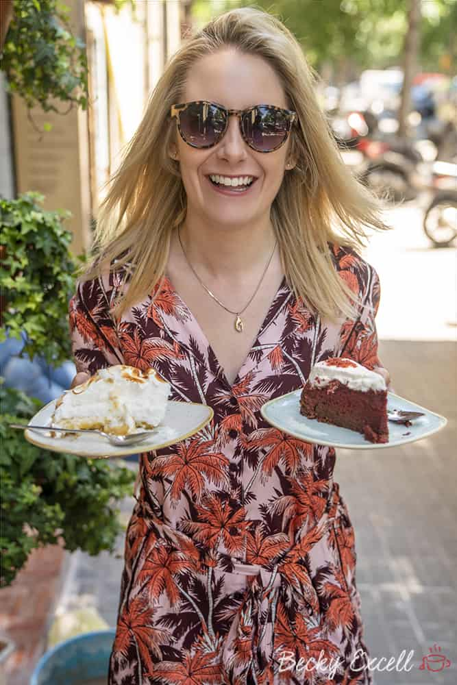 My ULTIMATE guide to gluten free in Barcelona - Cakes at Gula Sana