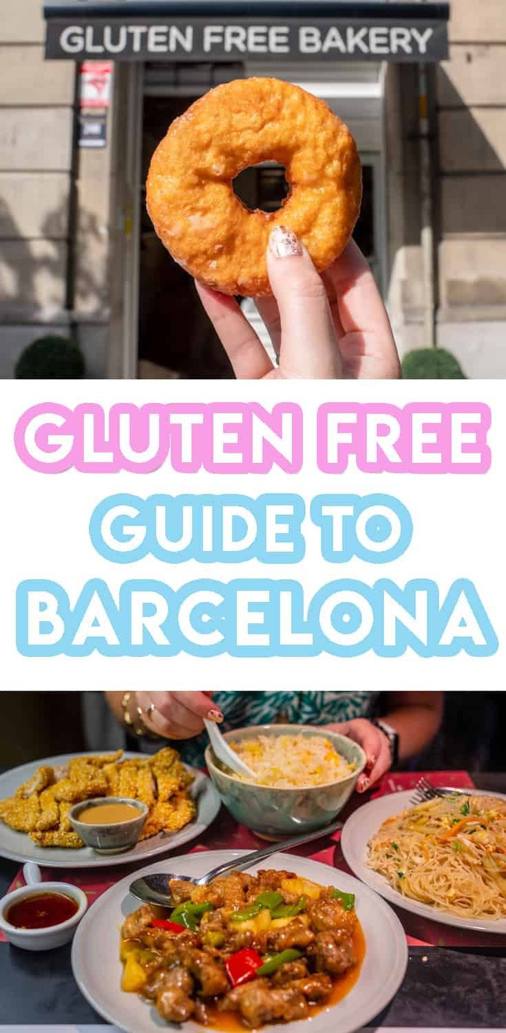 My ULTIMATE guide to gluten free in Barcelona - Pinterest