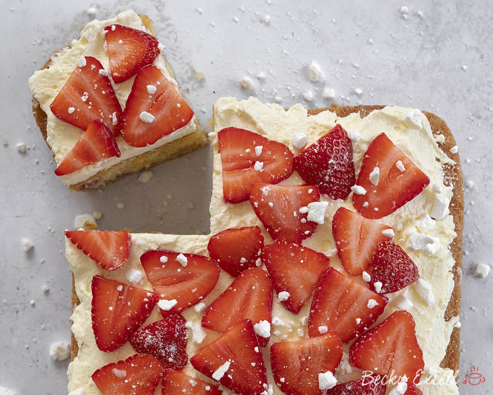 My Gluten Free Eton Mess Traybake Recipe (dairy free option)