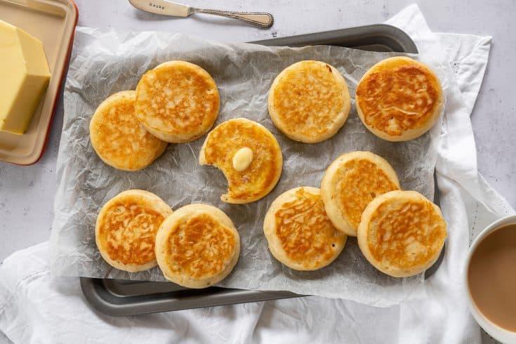 My Gluten Free Crumpets Recipe (vegan/dairy free option + low FODMAP)