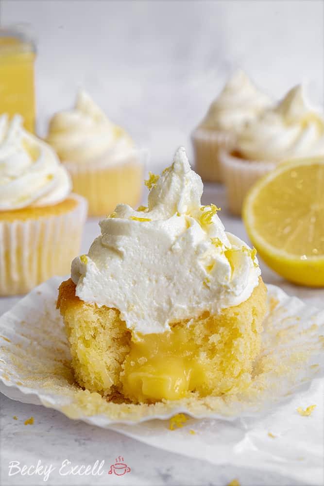My Gluten Free Lemon Cupcake Recipe (low FODMAP + dairy free option)