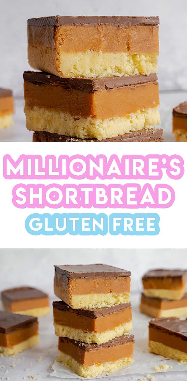 Gluten Free Millionaire's Shortbread Recipe