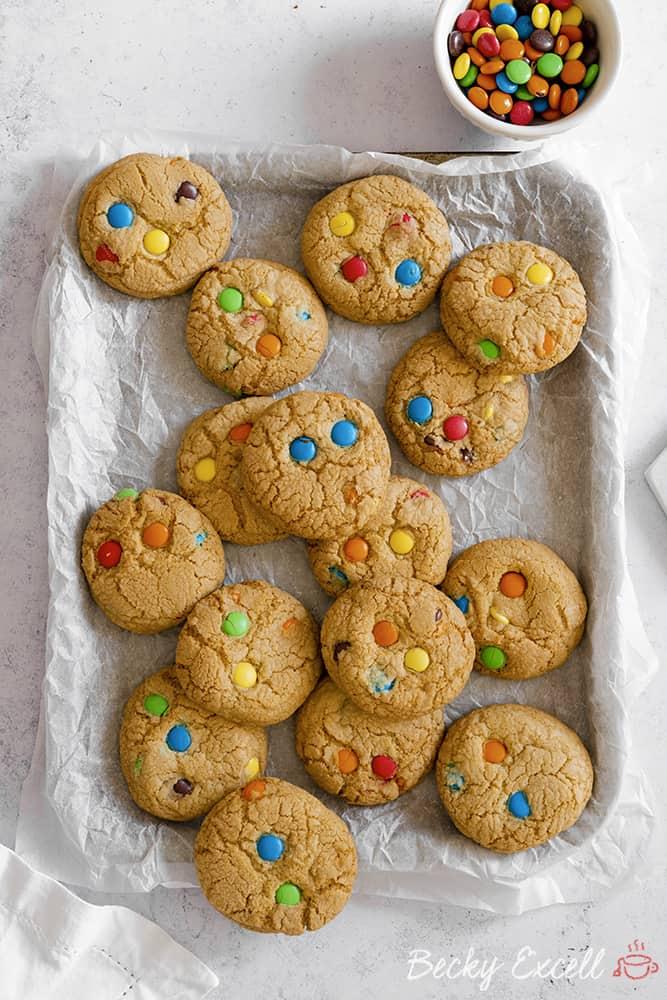 Gluten Free Smarties Cookies Recipe W Aldi Choc Ums