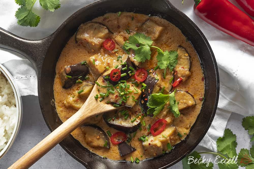 Marks Gluten Free Thai Red Curry Recipe Vegan Option Low
