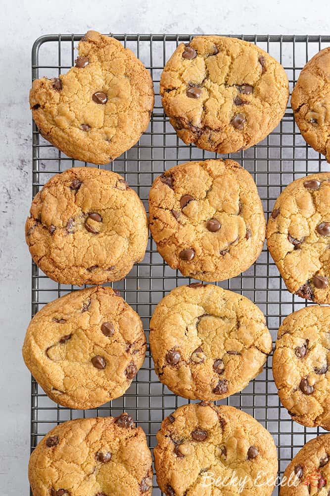 The BEST EVER Gluten Free Chocolate Chip Cookies Recipe (dairy free)