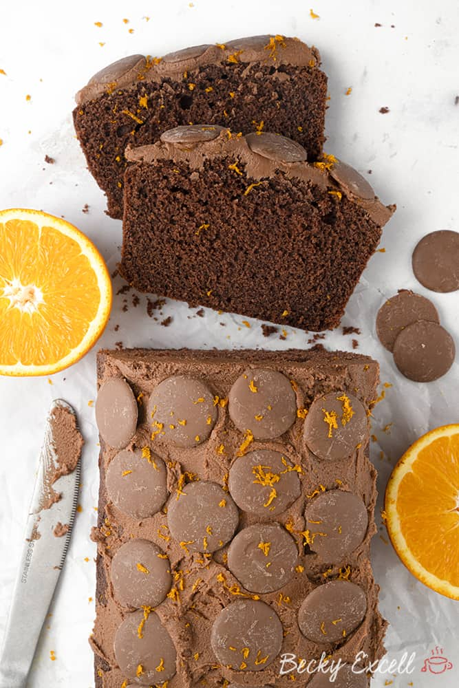 My Gluten Free Chocolate Orange Cake Recipe (dairy free option)