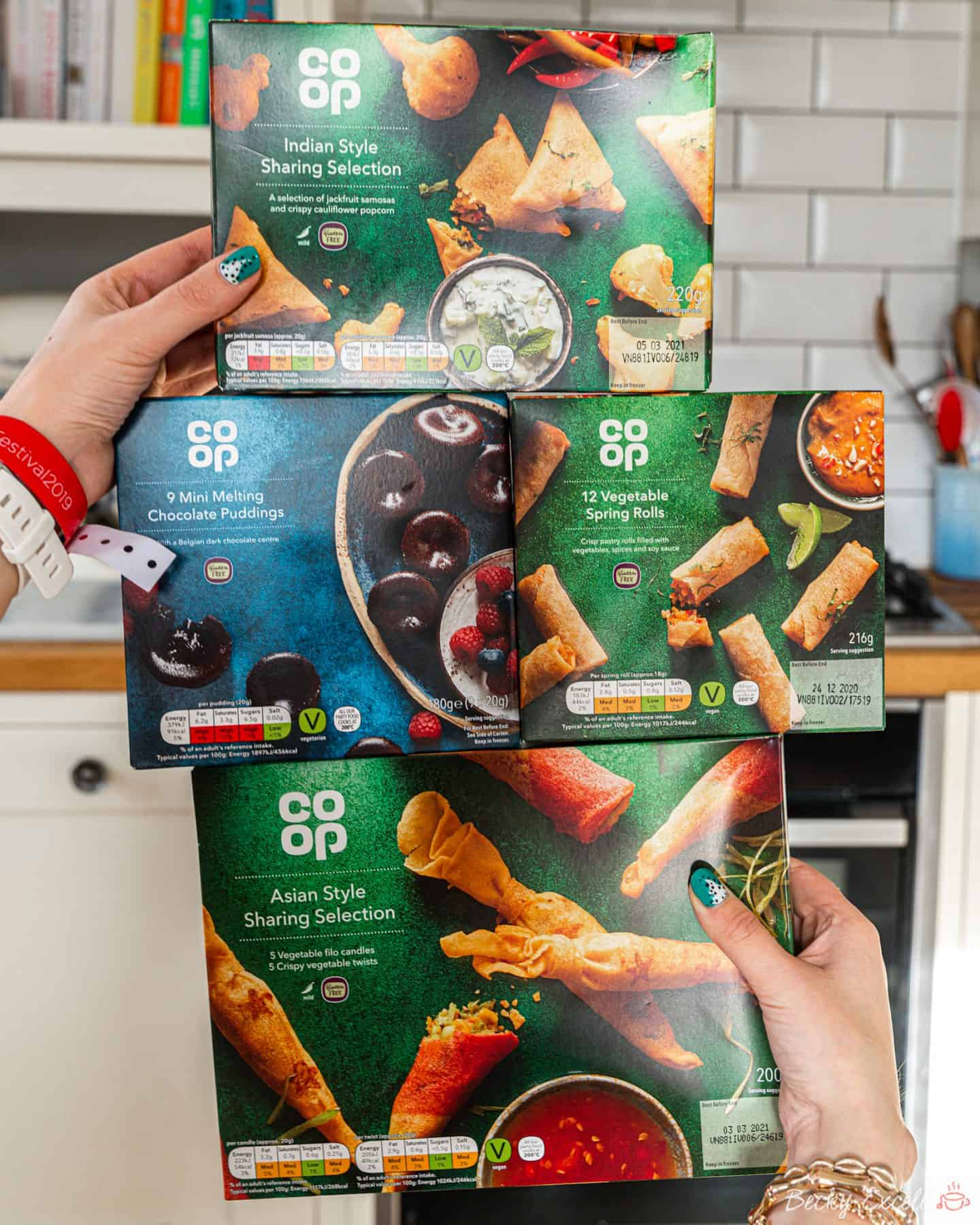 17 NEW products in the Co-op gluten free Christmas range 2019