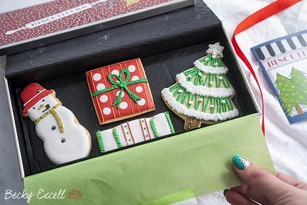 Biscuiteers Gluten Free Festive Biscuit Tin