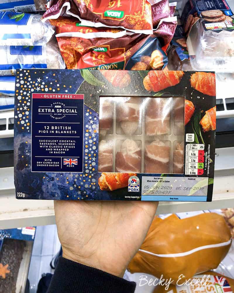 Asda Extra Special 12 British Pigs in Blankets - Gluten free