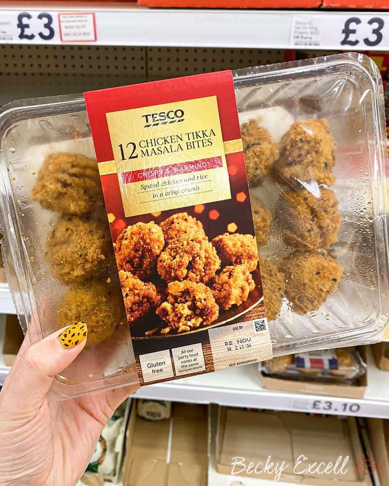 Tesco 12 Chicken Tikka Masala Bites - Gluten free