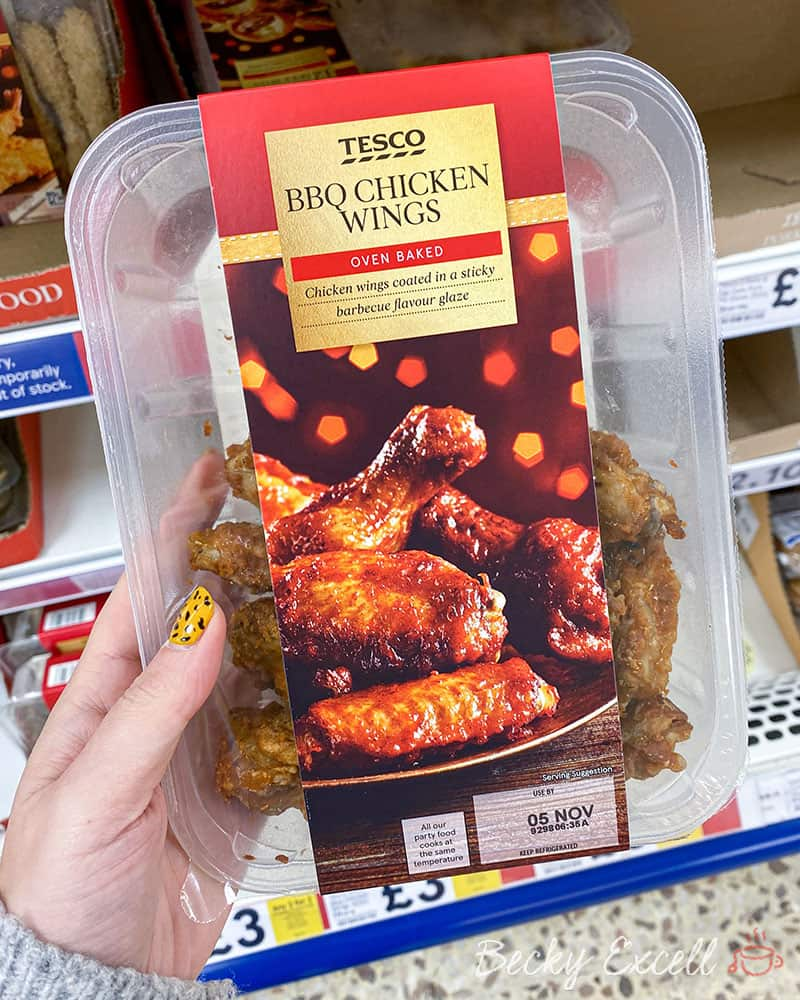 Tesco BBQ Chicken Wings - Gluten free
