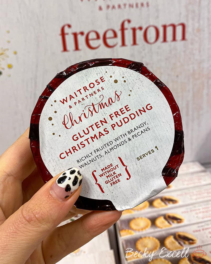 24 NEW products in the Waitrose Gluten Free Christmas Range 2019