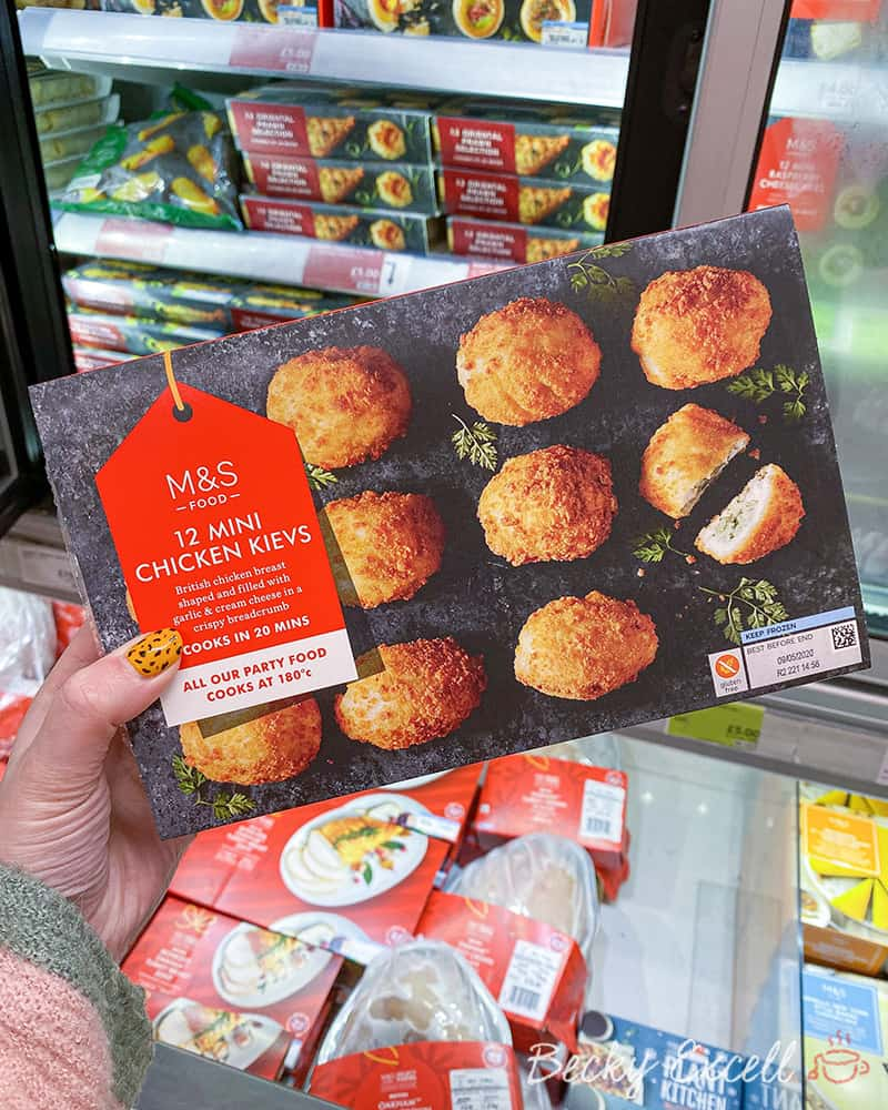 Marks and Spencer 12 Mini Chicken and Garlic Kievs - Gluten free
