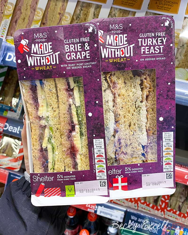 Brie and Grape and Turkey Feast Sandwiches