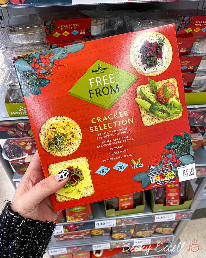 cracker selection free from morrisons