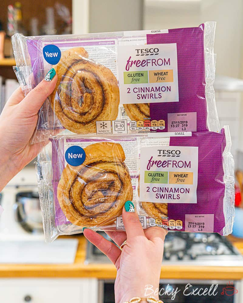15 NEW products in Tesco's gluten free range - OUT TODAY!