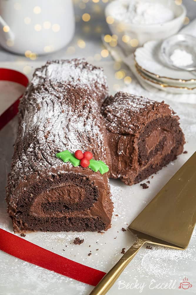 My Gluten Free Yule Log Recipe