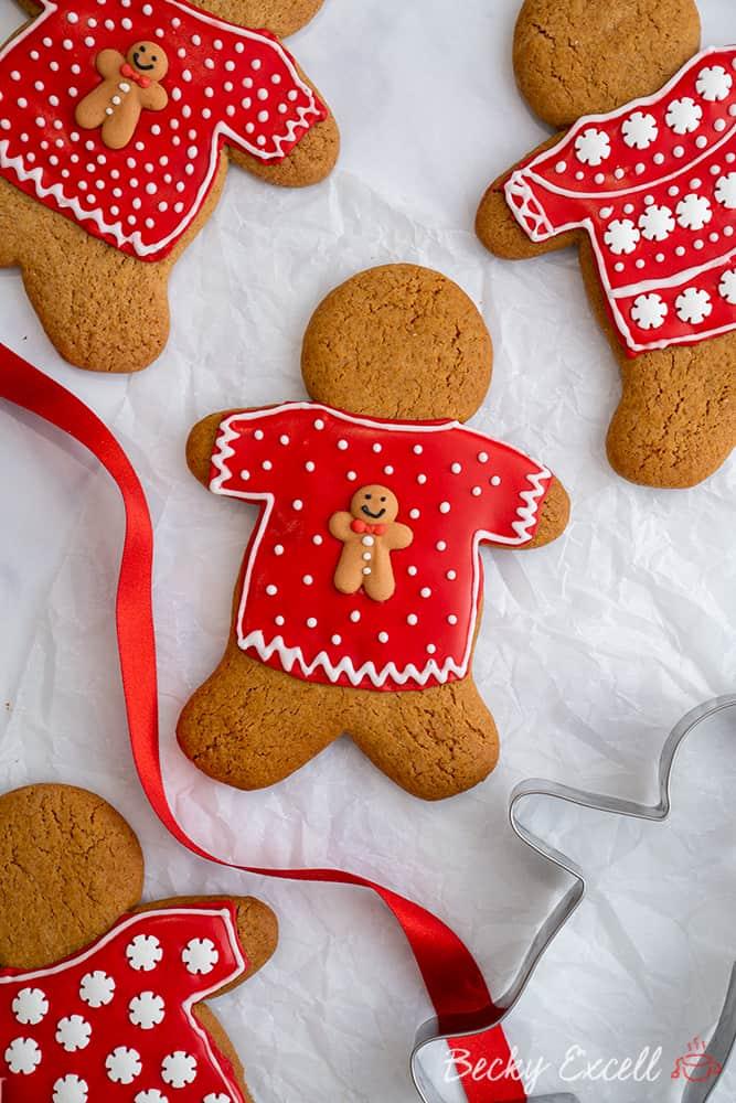 Gluten Free Gingerbread Men Recipe (low FODMAP, dairy free option)