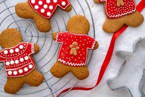 My Gluten Free Gingerbread Men Recipe (low FODMAP, dairy free/vegan option)