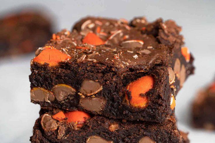 Gluten Free Easter Chocolate Orange Brownies Recipe