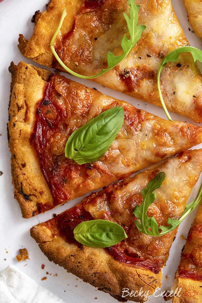 Gluten Free Pizza Base Recipe (vegan, dairy free, low FODMAP)