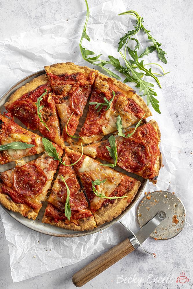 Gluten Free Pizza Base Recipe Rolling Dough