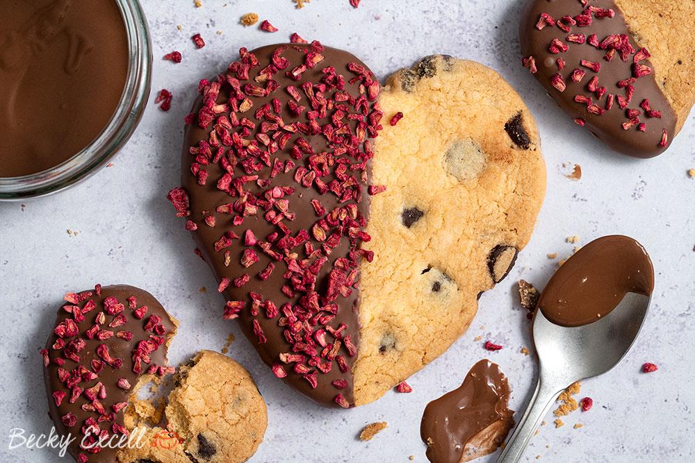Gluten Free Chocolate Dipped Shortbread Recipe Vegan Dairy Free