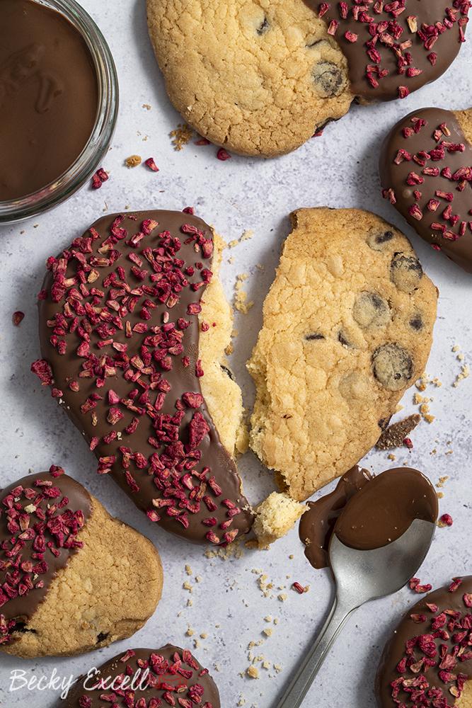 Gluten Free Chocolate Dipped Shortbread Recipe