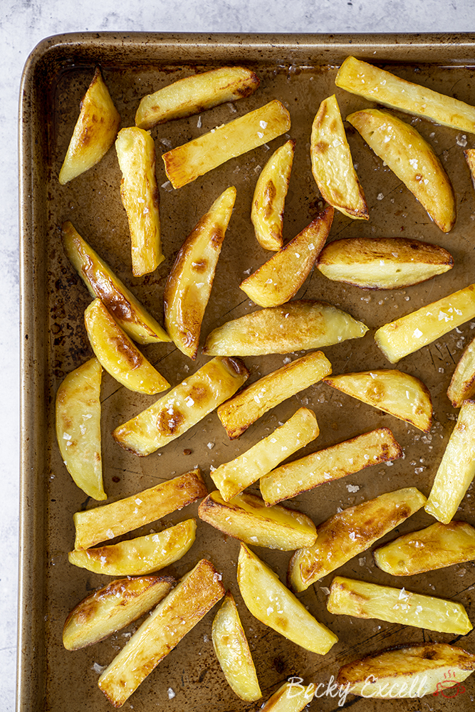 Gluten Free Salt and Pepper Chips Recipe (vegan, low FODMAP)