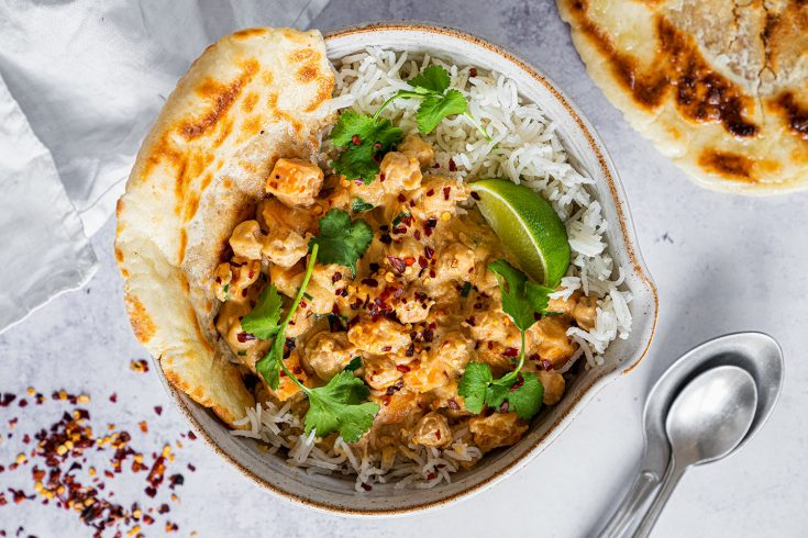 15-Minute Peanut Butter Curry Recipe (gluten free, vegan)