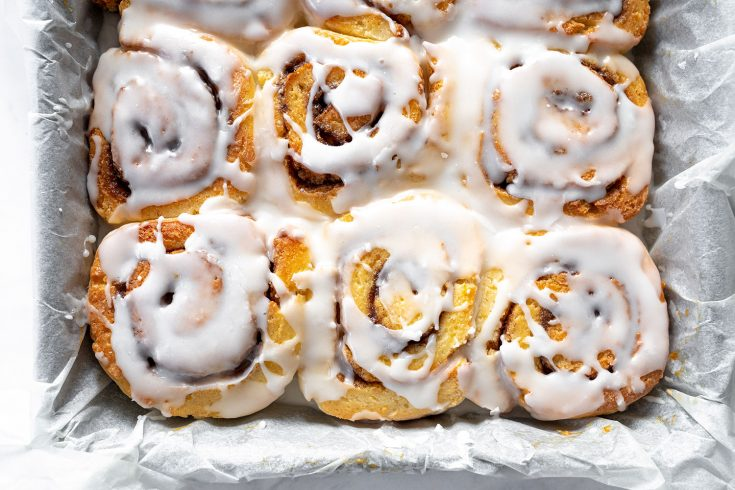 Gluten Free Cinnamon Rolls Recipe (vegan and low FODMAP option)