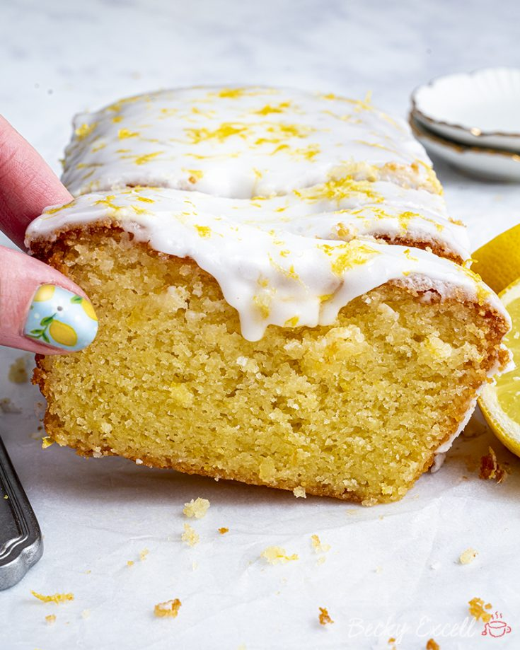 Gluten Free Lemon Drizzle Cake Recipe - BEST EVER!