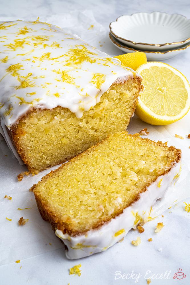 Gluten Free Lemon Drizzle Cake Recipe - BEST EVER! (dairy free, low FODMAP)