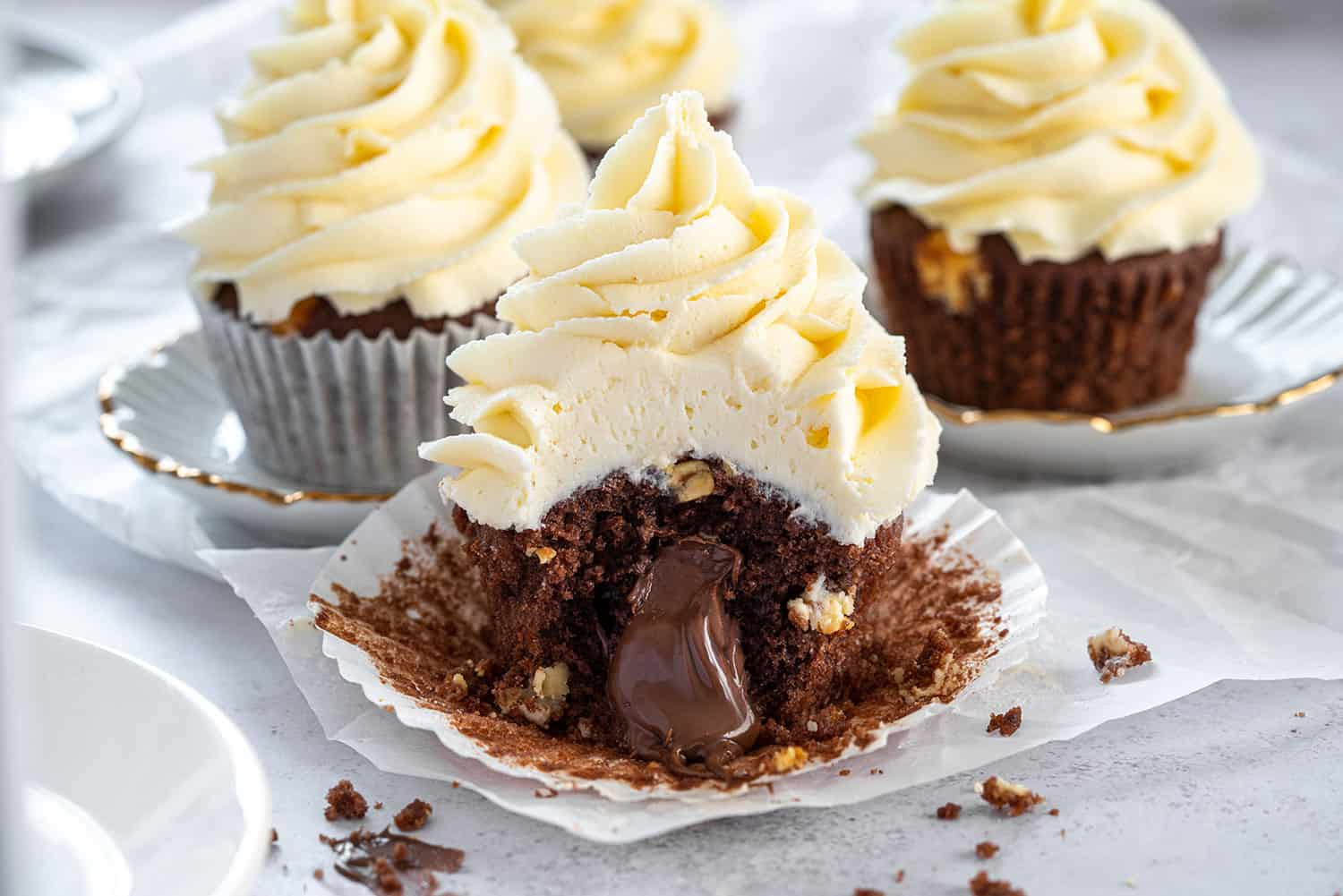 Gluten Free Triple Chocolate Cupcakes Recipe Dairy Free Option