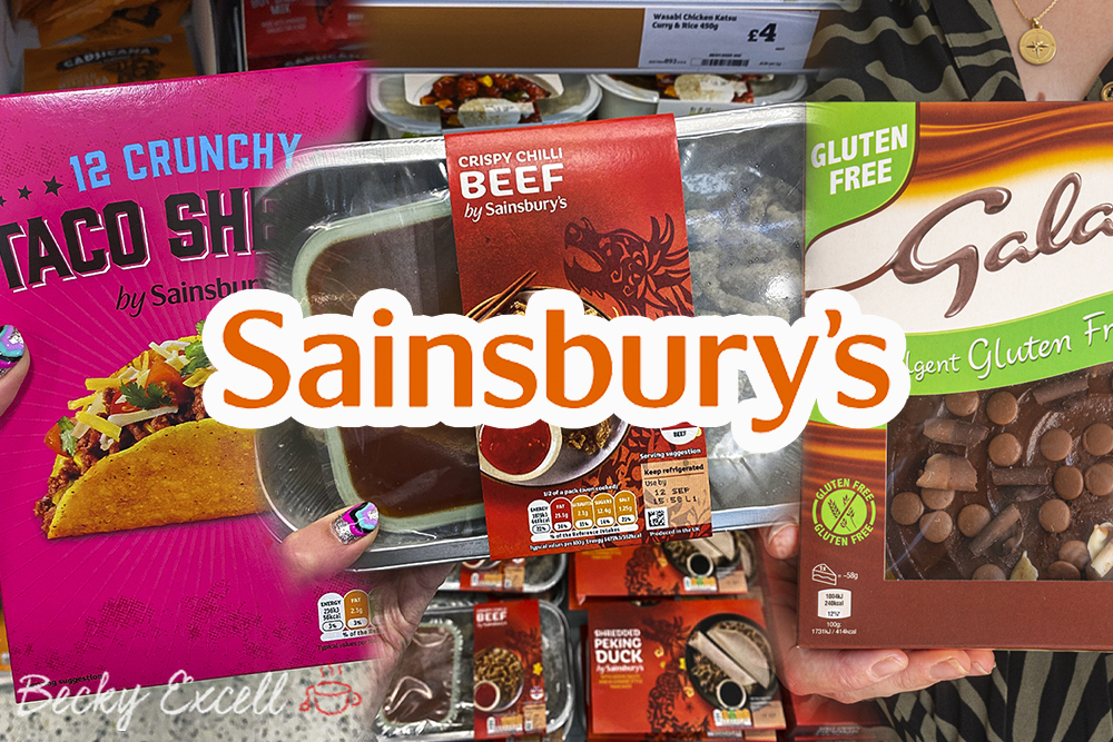 60 'Accidentally' Gluten-free Products in Sainsburys 2020