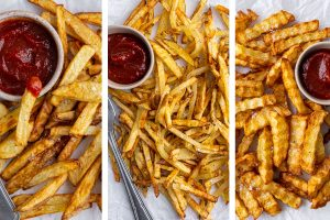 3 BEST Air Fryer Chips Recipes (Chips, French Fries, Crinkle Cut Chips)
