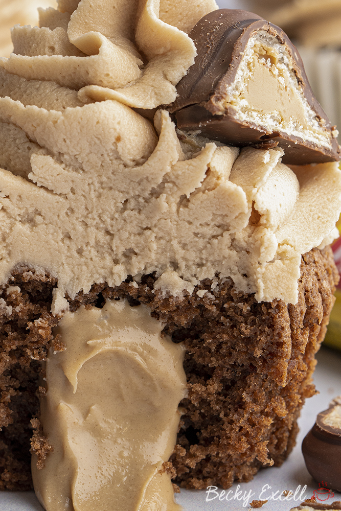 Gluten-free 'Kinder Bueno' Cupcakes Recipe (using Schar Meltos)
