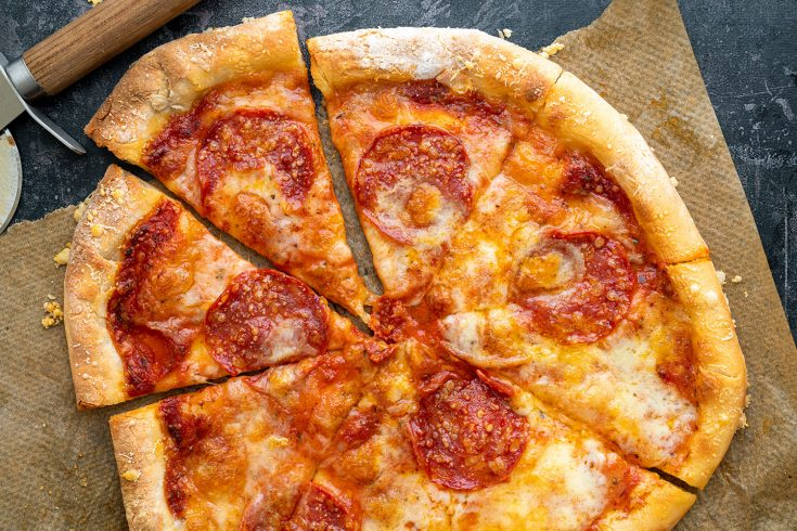 Gluten-free Stuffed Crust Pizza Recipe (dairy-free/vegan option)