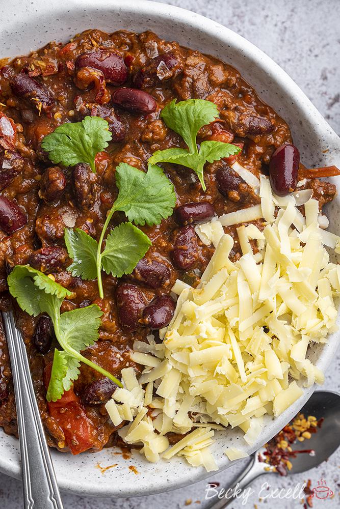 Gluten-free Chilli Con Carne Recipe - BEST EVER! (dairy free, low FODMAP option)
