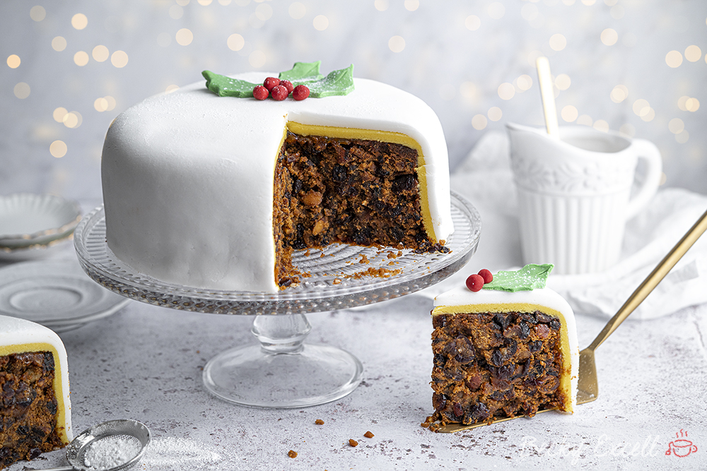 Gluten-free Christmas Cake Recipe - BEST EVER! (dairy-free option)