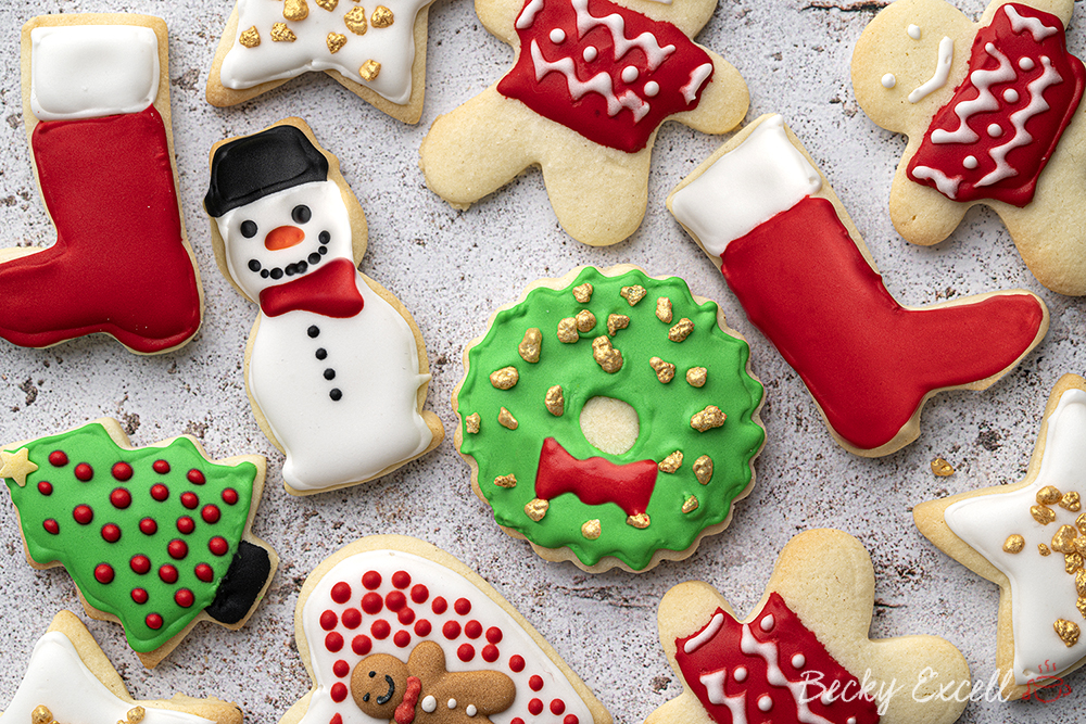 Gluten-free Christmas Cookies Recipe (low FODMAP + dairy-free option)