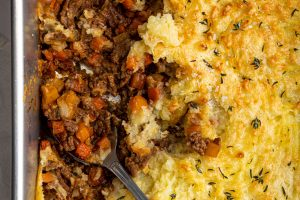 Gluten-free Cottage Pie Recipe – BEST EVER! (low FODMAP, dairy-free option)