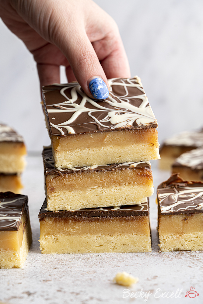Gluten-free Millionaire's Shortbread Recipe - BEST EVER!